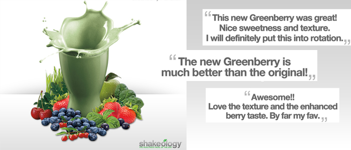 New Greenberry Shakeology